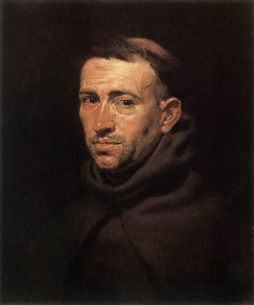 Rubens Head of a Franciscan Friar
